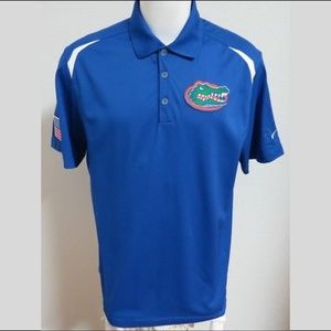 Sz XL Royal Nike Dri-Fit Men db USA Poly #60N Polo